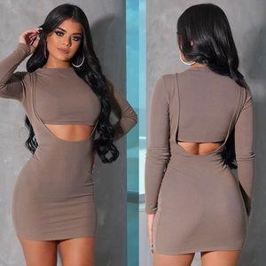 NWOT - Long Sleeve Mini Dress